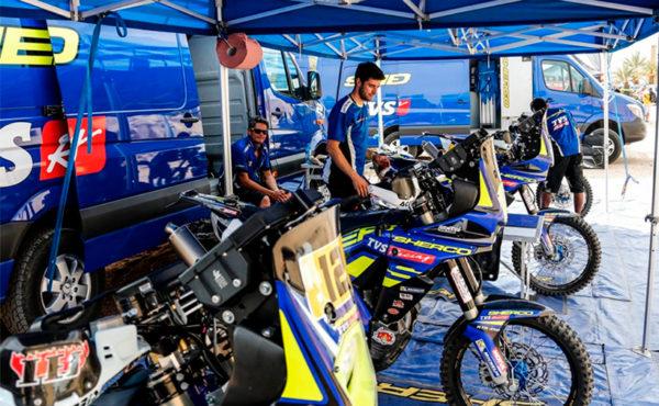 Tente paddock Dakar