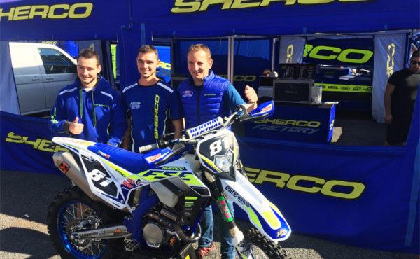 Tente Sherco enduro et motocross
